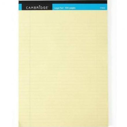 Cambridge Legal Note Pad A4